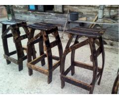 Barske stolice od starih bačvi