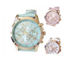 Najnoviji ženski satovi kožni analogni