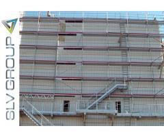300 m2 kompletna skela čelični okvir čelična platforma proizvođač skela