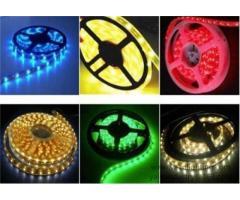 Holiday LED fleksibilna traka svjetlosti, 5050 60 SMD RGB uže rasvjeta
