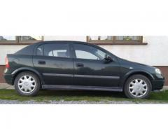 Opel Astra G | prvi vlasnik | 2001. | 1.6 | 62Kw | zelena+efekt | 220.000km