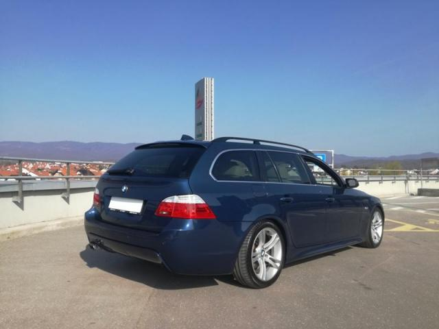 BMW E61 525d ,2005 Godina, Redizajn izvedba sa 3.0 motorom i 145 kW - 7/8