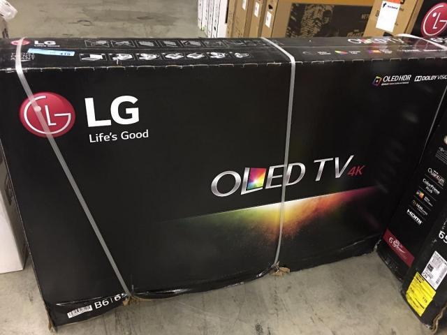 LG OLED65B6P Flat 65–Inch 4K Ultra HD TV - 1/2