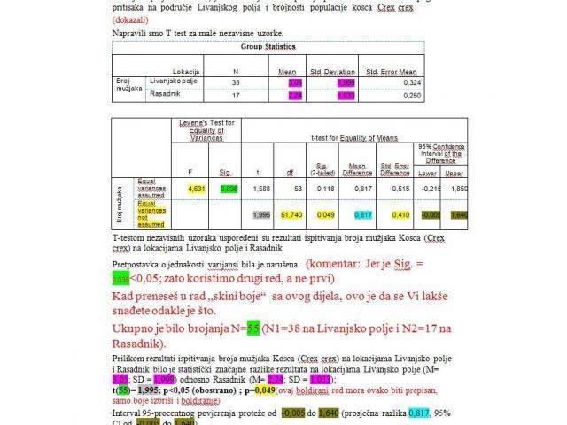 SPSS - statistička obrada podataka - 5/8