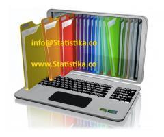 SPSS Nudimo statističku analizu, obradu podataka za naučne i druge radove.