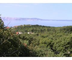 Klenovica, građevinska zona, lijep pogled, 548 m2, 4000 m do mora