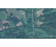 4 hektara, šuma, pijaća voda, ucrtani objekti