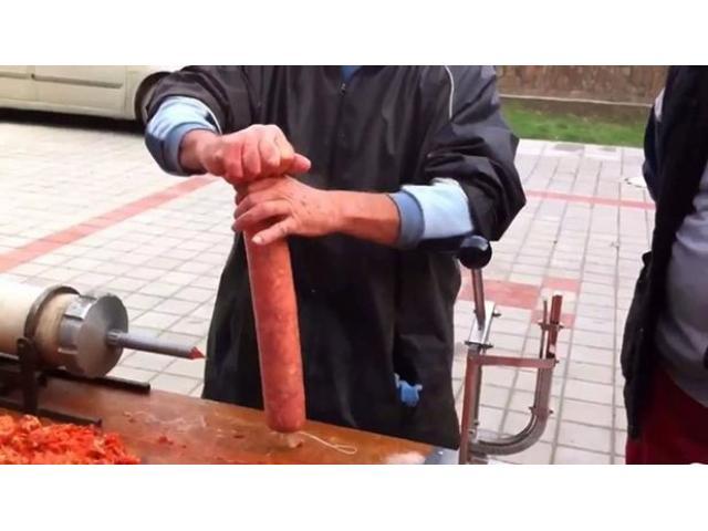 Klipsarica, Masina za zatvaranje suhomesnatih proizvoda i druge ambalaze - 3/4