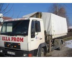 Kamion MAN 10153 kiper