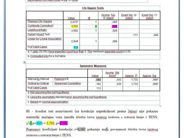 SPSS Nudimo statističku analizu, obradu podataka za naučne radove. Instrukcije i obrada podataka - 6/8