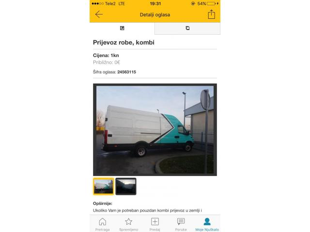 Prijevoz robe po zagrebu i cjeloj hr i europi