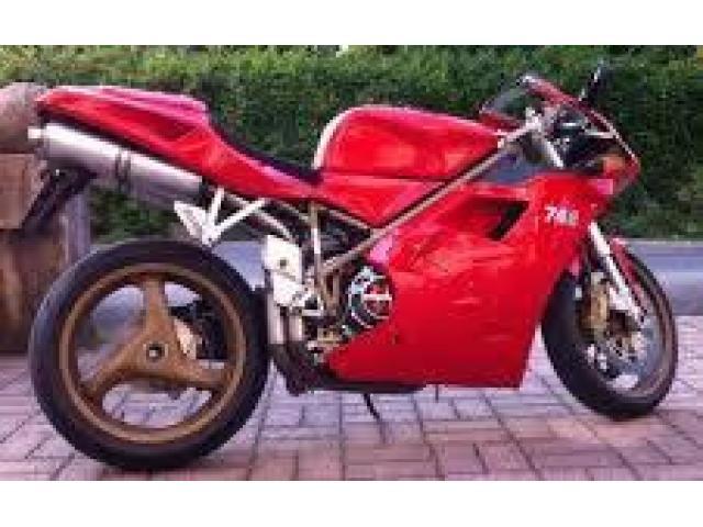 Za prodaju Ducati 748 zdrava crvena. - 2/5