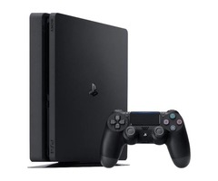 SONY PLAYSTATION 4 SLIM JET BLACK 500GB