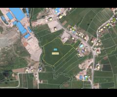 građevinska parcela  1,7 ha