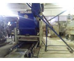 Masina za proizvodnju vibropresovanih behaton ploca, ivicnjaka, kanica