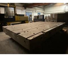 Stol od lijevanog željeza za montažu