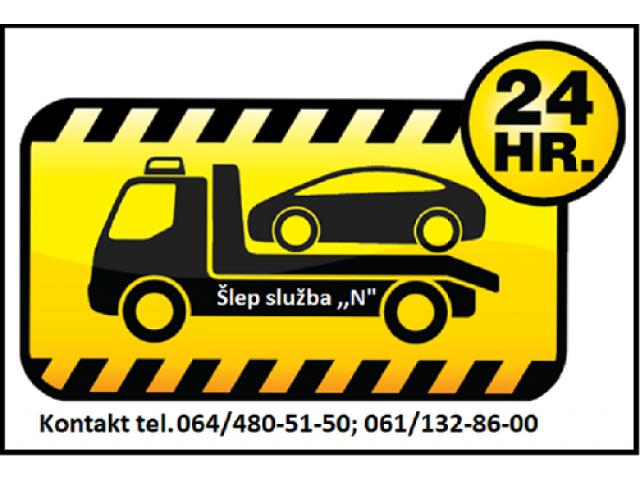 Šlep služba - od 00-24h. – Beograd